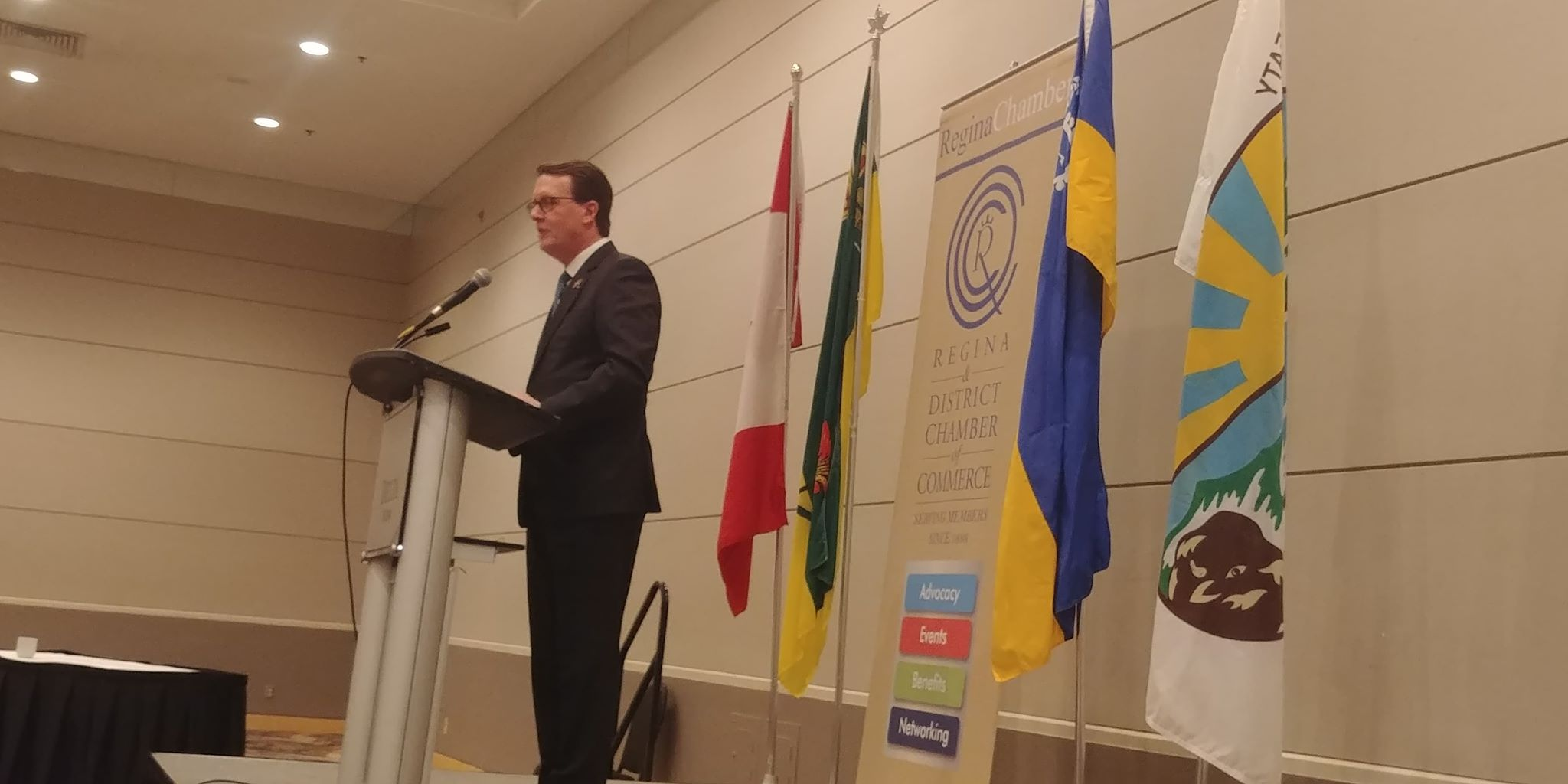 Mayor Michael Fougere describes busy 2018, and exciting 2019 with Regina Chamber of Commerce
