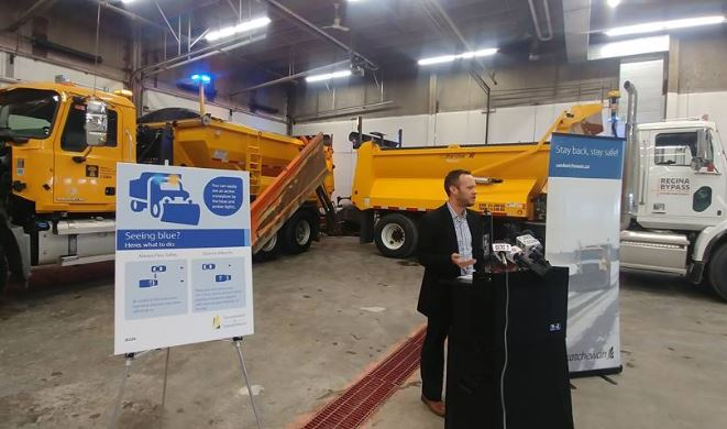 Ministry of highways reminds drivers of new laws regarding snow plows ahead of freezing rain