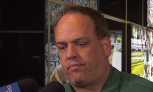 John Murphy says his days with the Riders are over