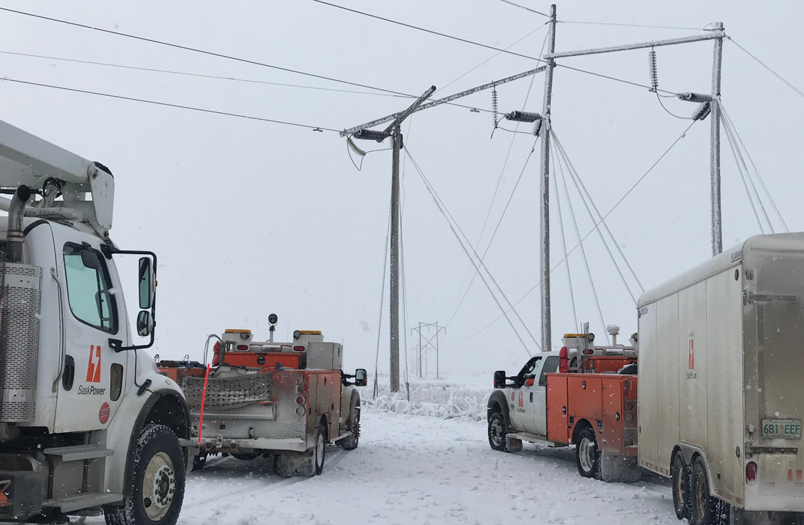 Update on massive outages from Saskpower
