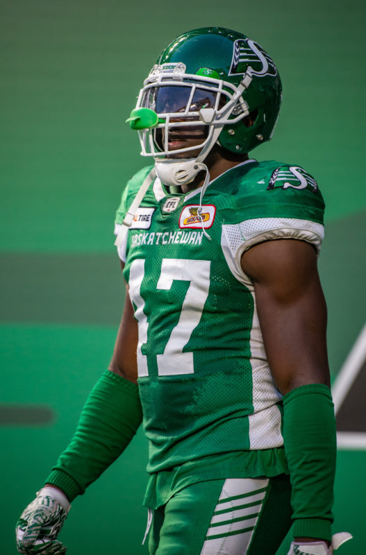 Riders release Sam Eguavoen so he can pursue NFL opportunity