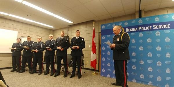 Six new recruits sworn in to Regina Police Service
