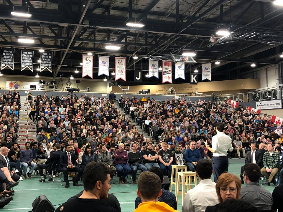 Plenty of reaction from PM Justin Trudeau's town hall meeting at University of Regina
