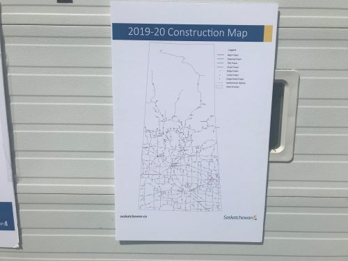 Saskatchewan focuses on safety this highway construction