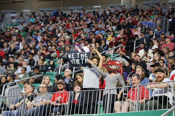 Mosaic Stadium prepares for Riders/Raptors viewing party