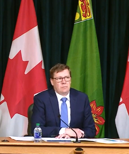 Angus Reid poll paints Moe and province in good light