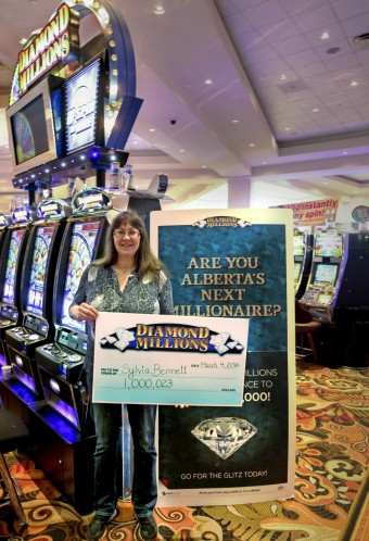 Fort McMurray resident wins $1m jackpot at Edmonton slots