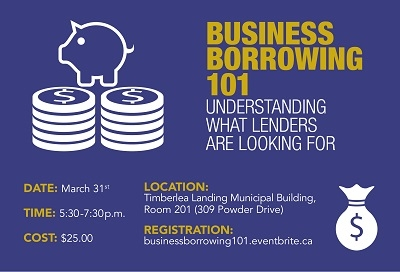 Credit, business loans the focus of upcoming workshop