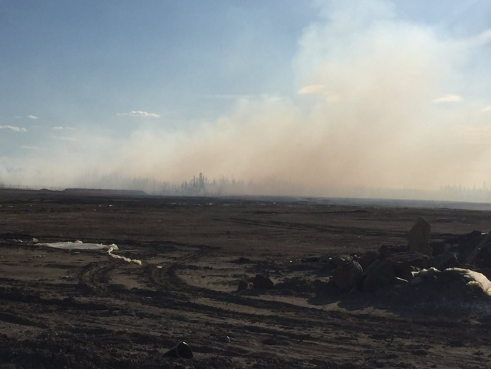 """Forest fire near Timberlea and Parsons Creek """"under control"""" according to R.E.S."""