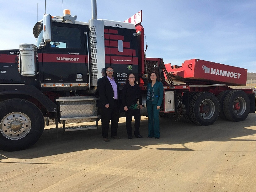 Alberta govt. announces new truck staging area north of Fort McMurray