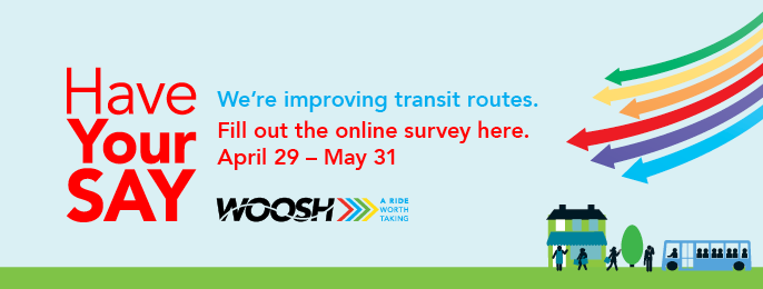Transit engagement sessions, survey begins