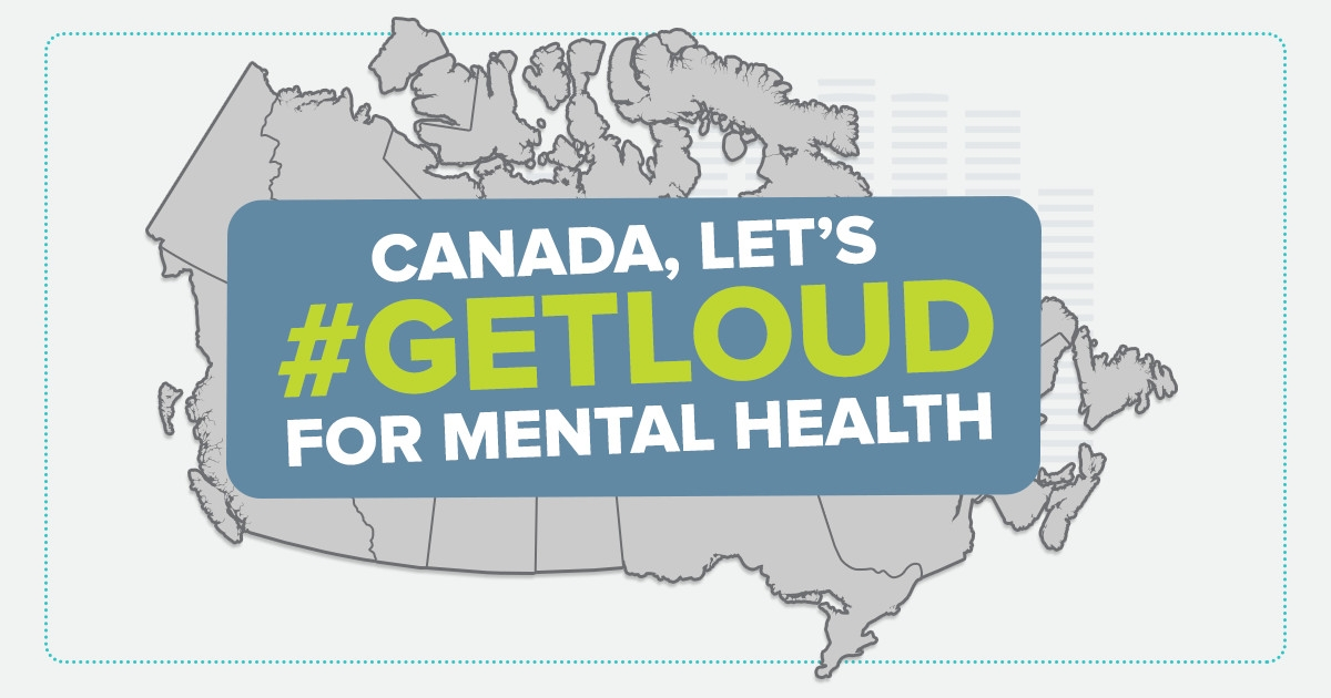 "CMHA challenges people to ""Get Loud"" about mental illness"