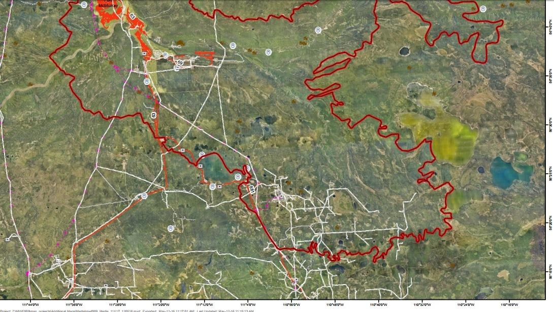 Alberta Wildfire update May 12