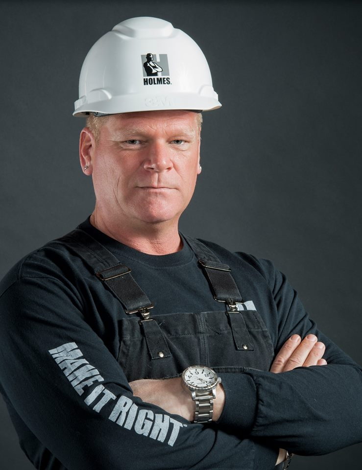 TV Star Mike Holmes holding Q & A at Shell Place