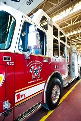 Kitchen fire in condo on Parsons Creek Drive