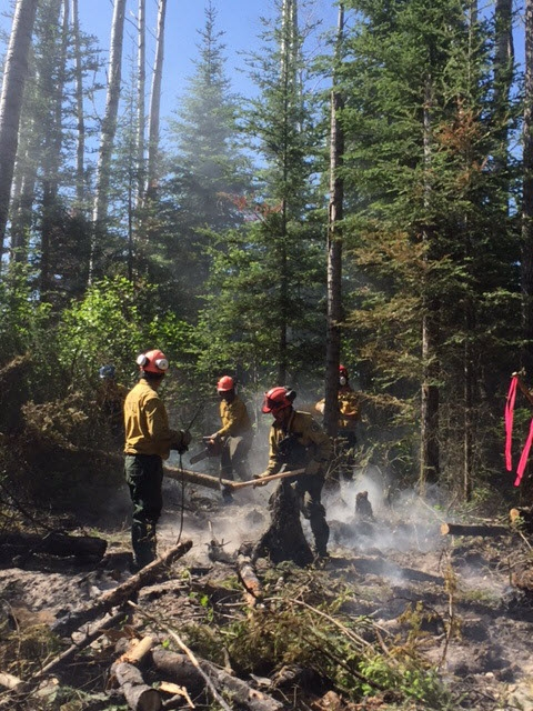 Wildfire Danger Extremely High, Fire Behaviour Advisory Issued