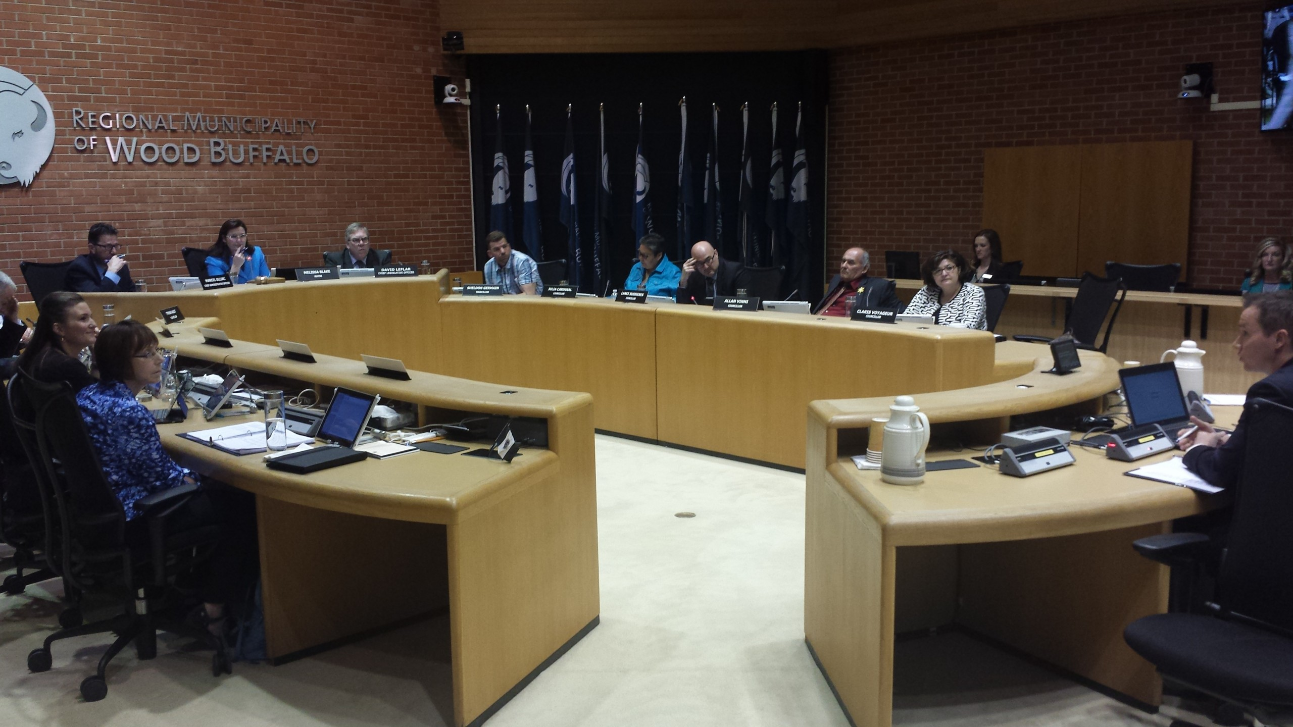 Crime Numbers and Rebuild, Talking Points at Council
