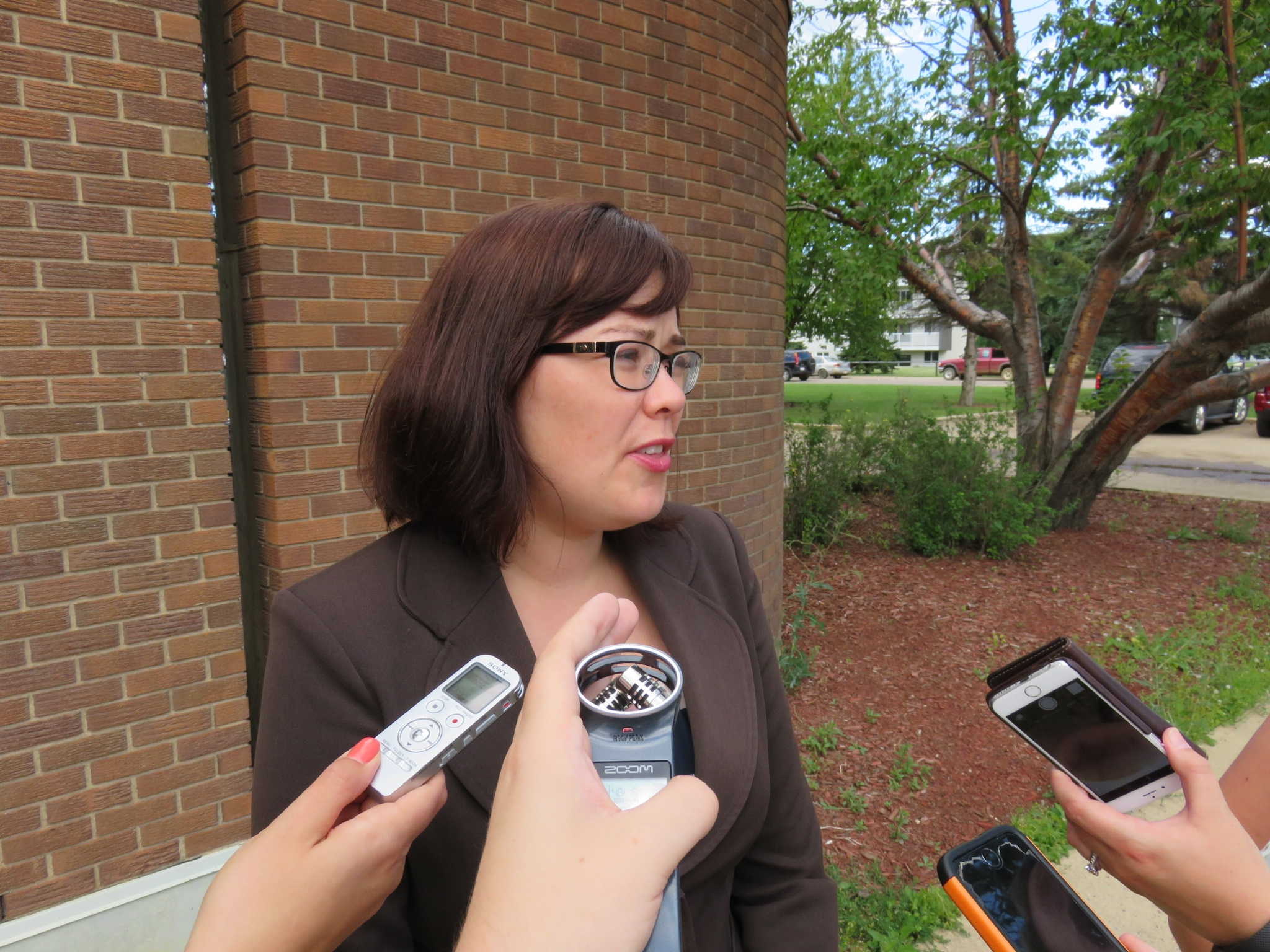 Justice Minister Ganley assessing courthouse needs in Fort McMurray visit