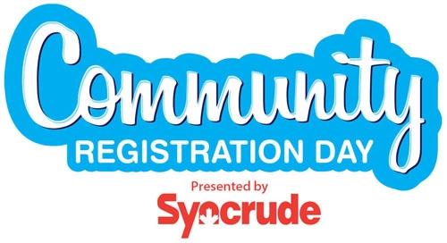 Community Registration Day set for September