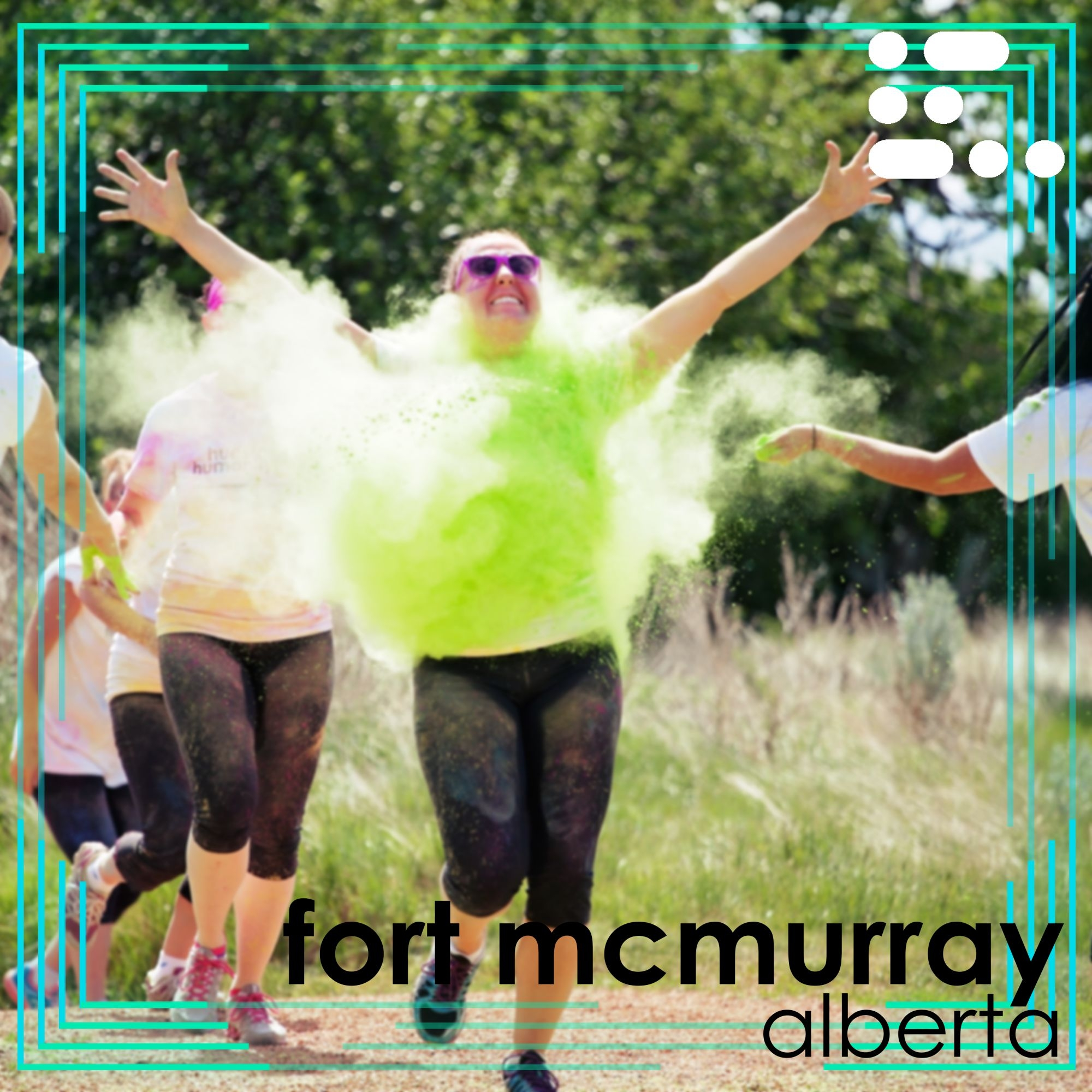 Colour Run in Fort McMurray August 27