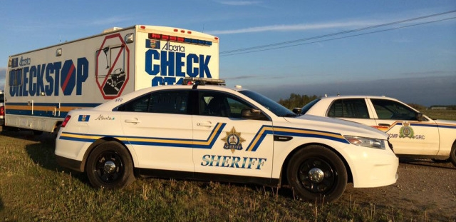 Several charges for Fort McMurray man after checkstop