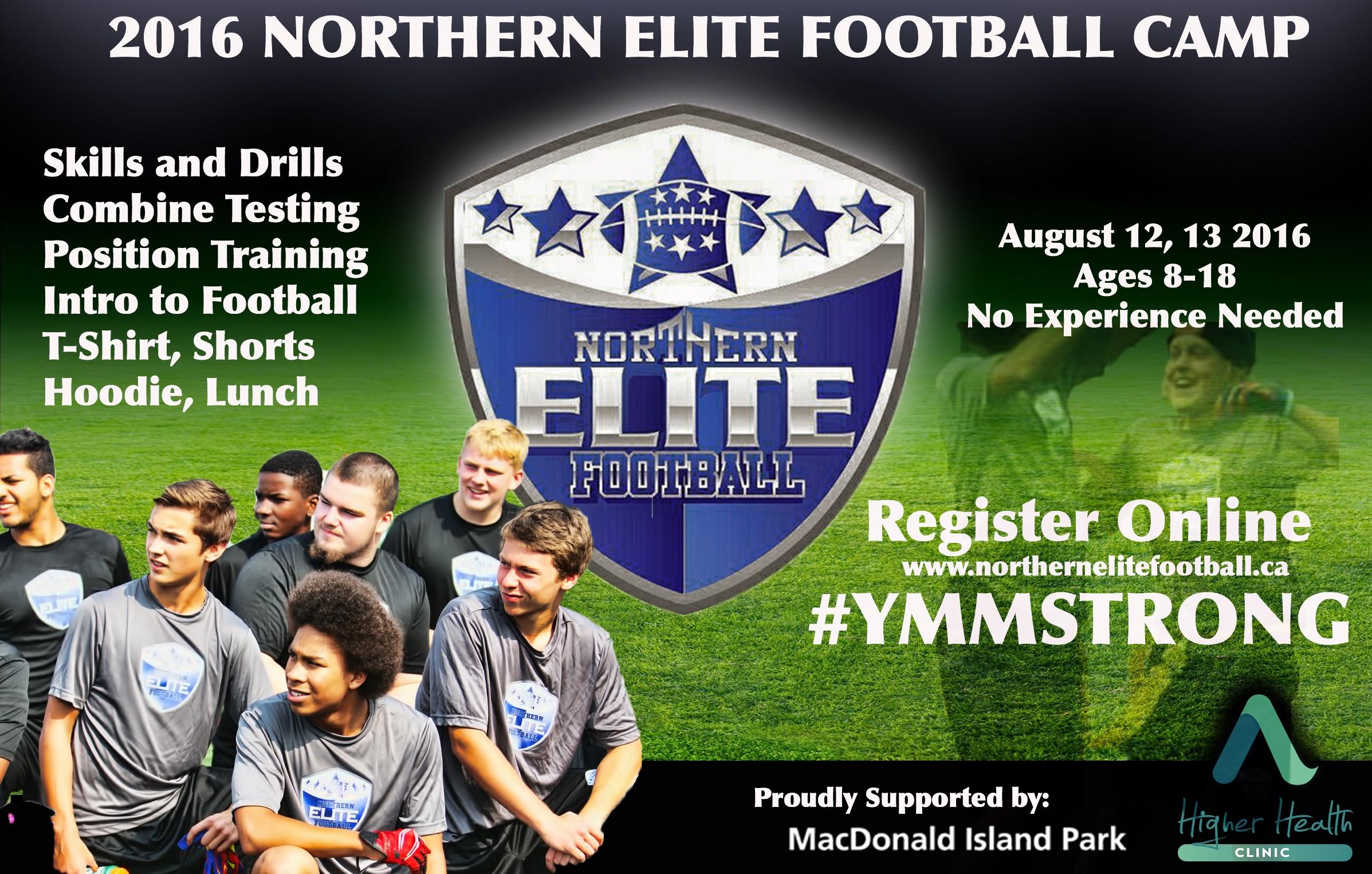 Northern Elite Camps happening over weekend
