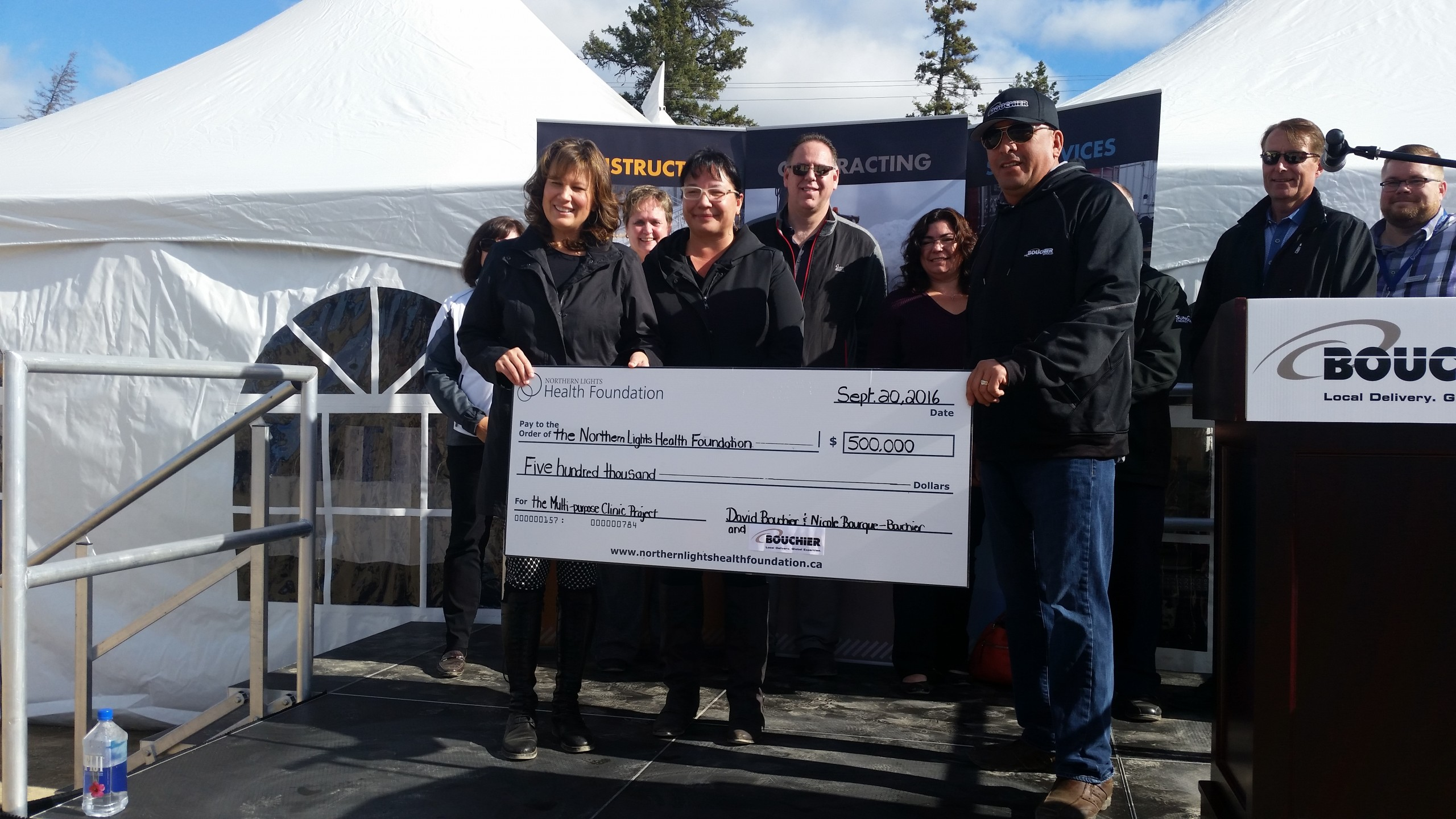 The NLRHC receives $500,000 donation for multi-purpose clinic