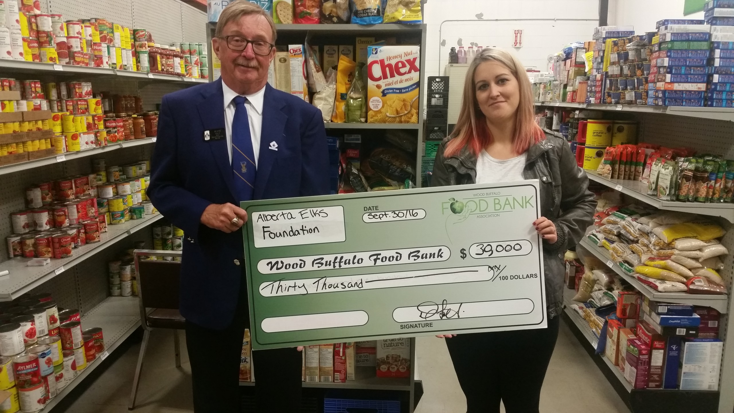 Wood Buffalo Food Bank receives another big donation