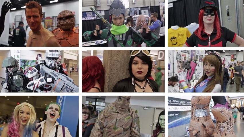 VID: Edmonton Expo Cosplay Music Video