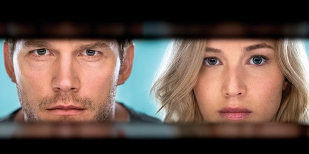VID: Jennifer Lawrence and Chris Pratt in PASSENGERS Trailer