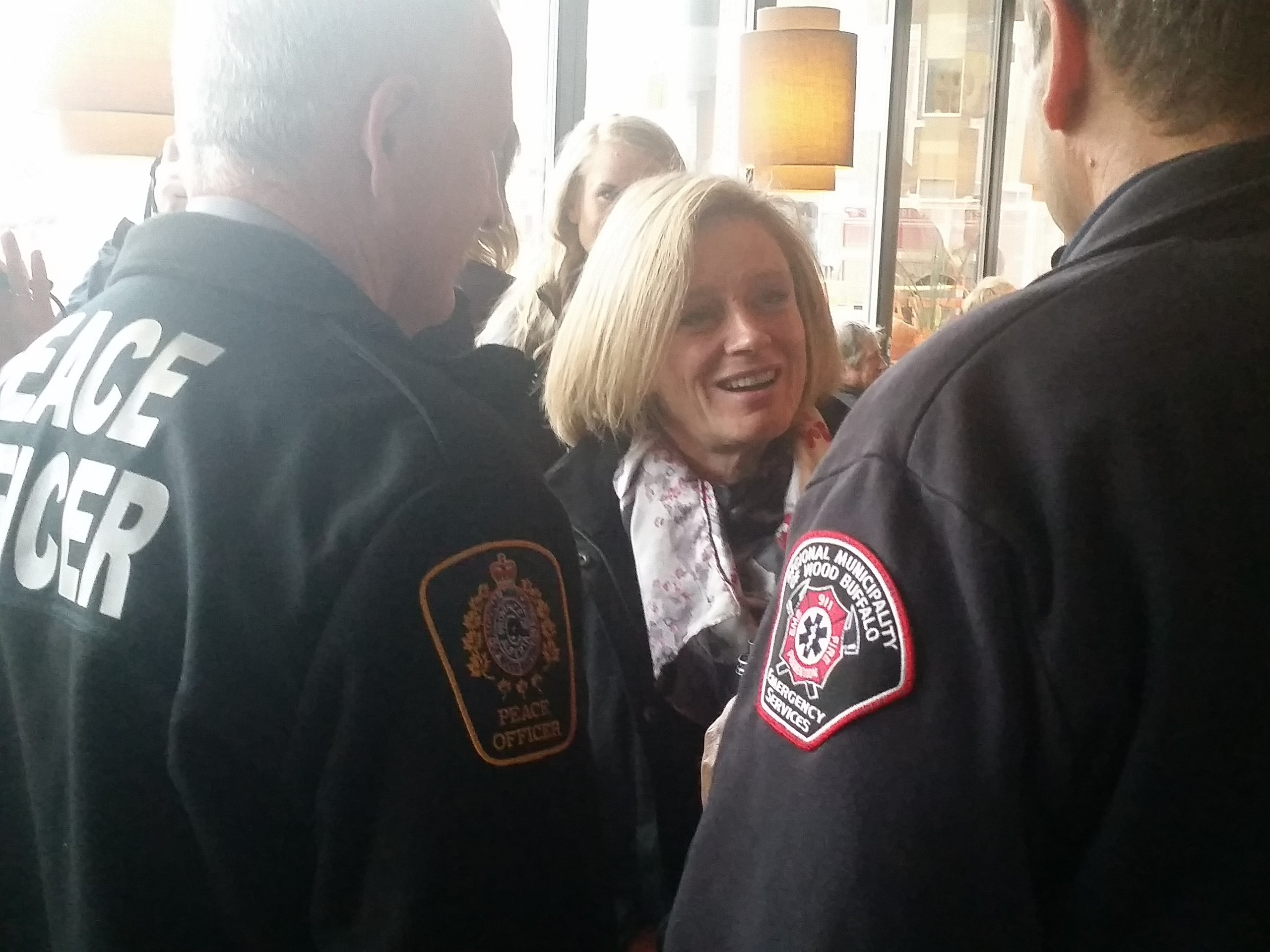 Premier Notley In Fort McMurray For Willow Square Groundbreaking, Meeting With Local Businesses