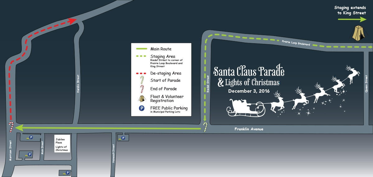 RMWB Looking For Volunteers & Floats For Santa Claus Parade and Lights of Christmas