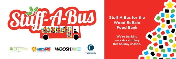 RMWB & Transit Services launch 1st annual stuff-a-bus campaign