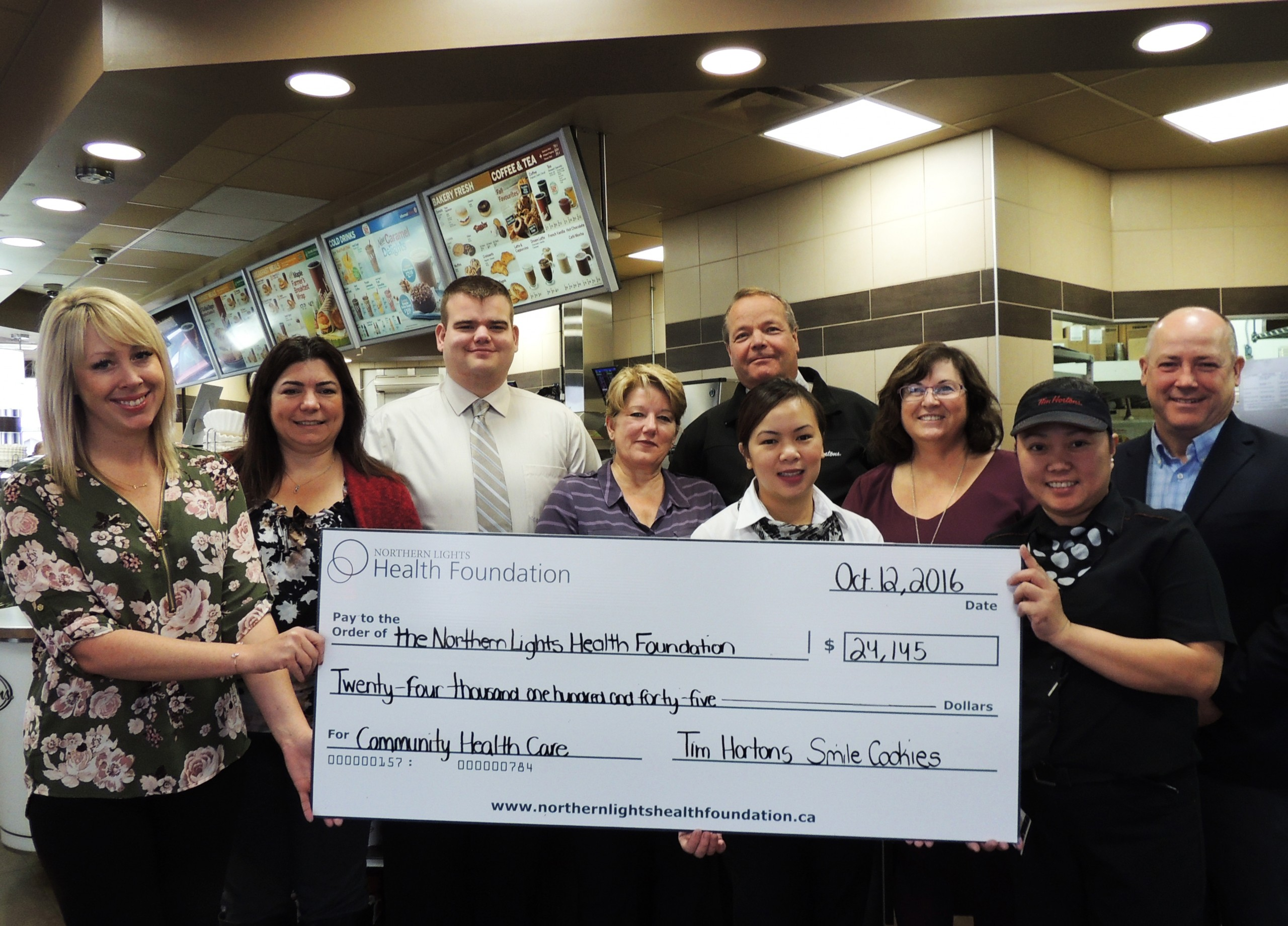 Smile Cookies raise $24,000 for Northern Lights Health Foundation