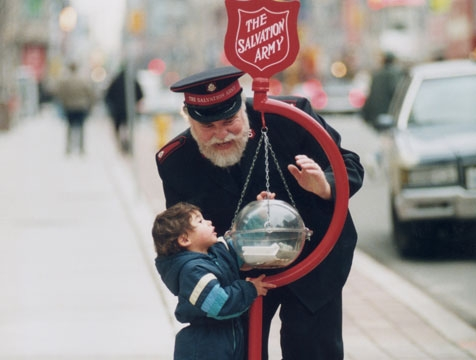 Salvation Army Christmas Kettle Drive Kicks Off On Saturday