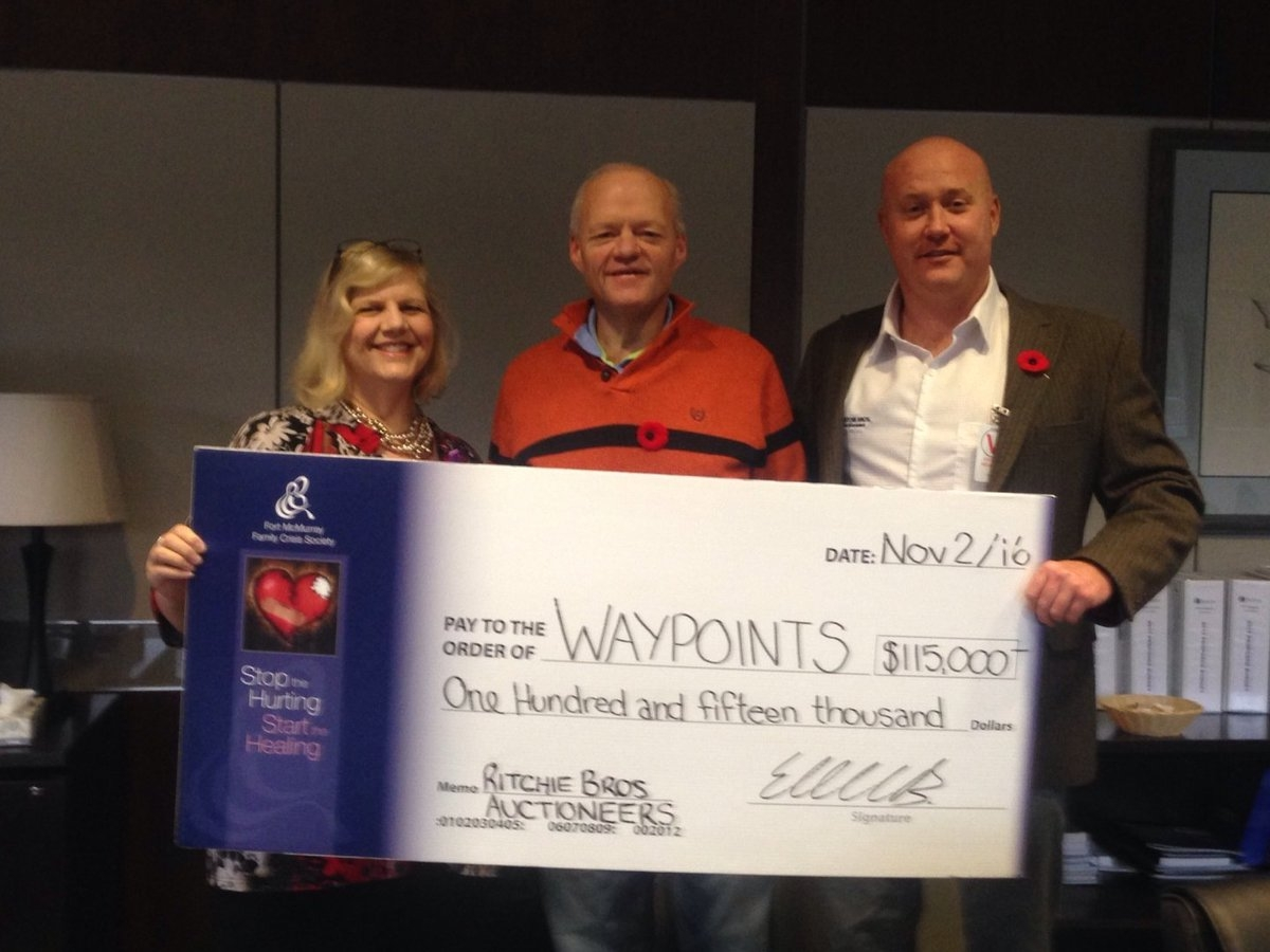 Waypoints Receives Large Donation From International Company