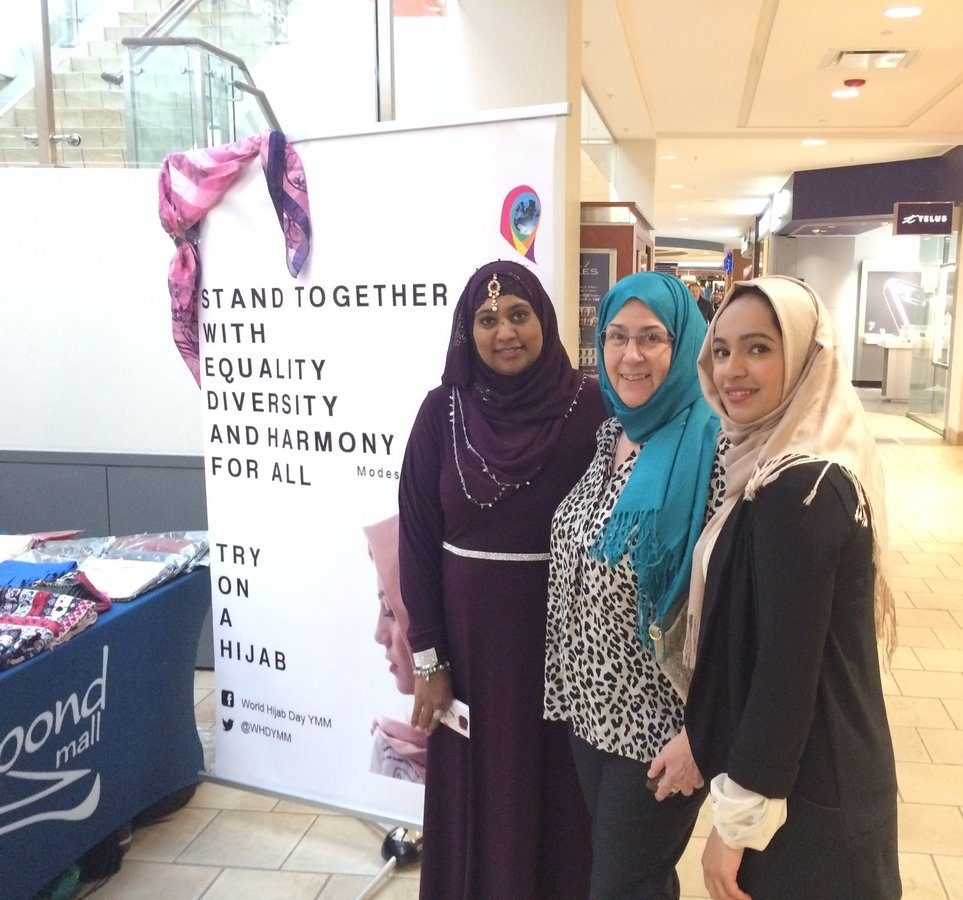 Women in Fort McMurray celebrate World Hijab Day