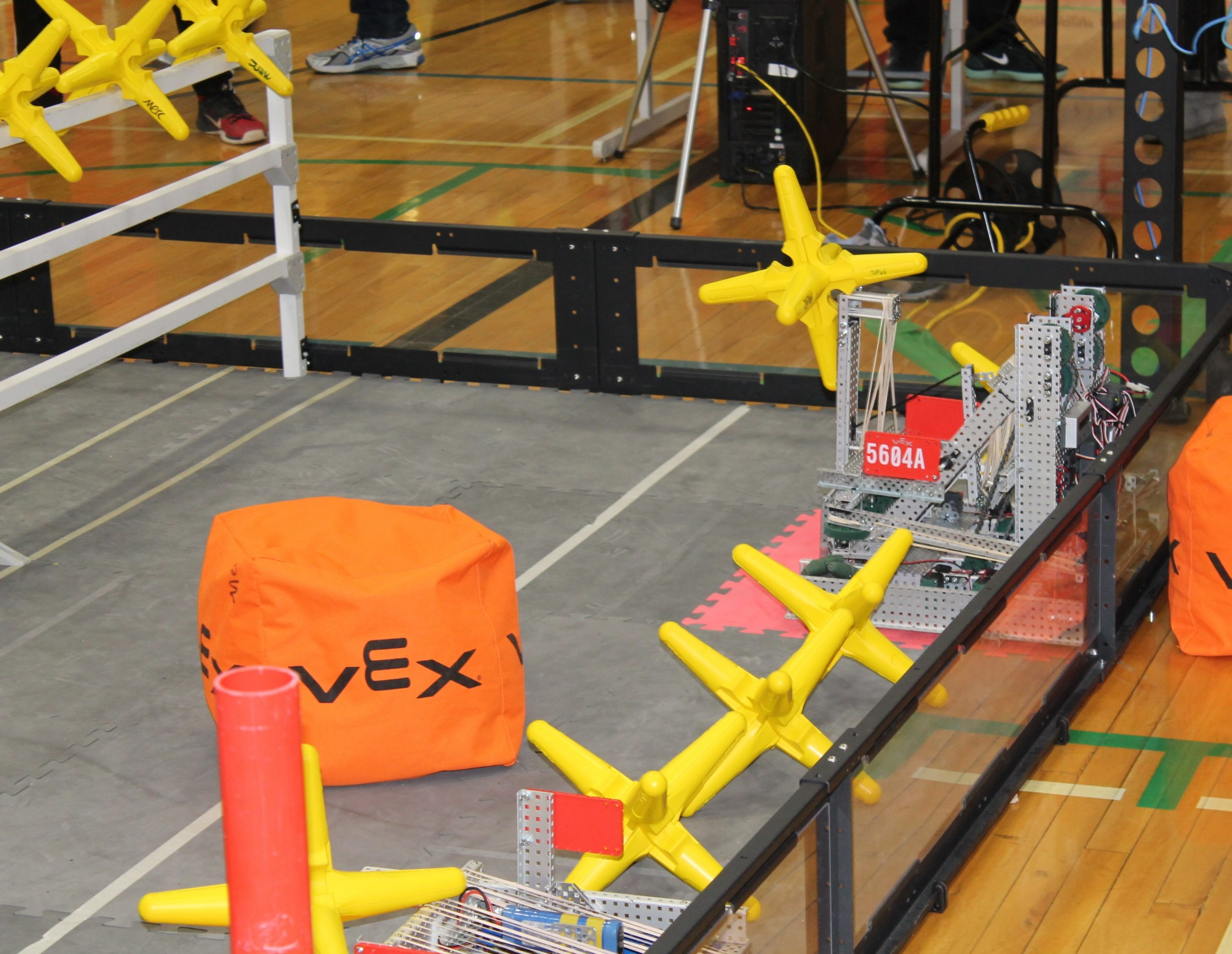 Students are learning to problem solve with robots