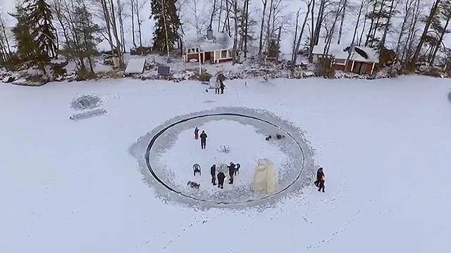 "The ""Lazy Snow-san"" - aka Finnish Magic"