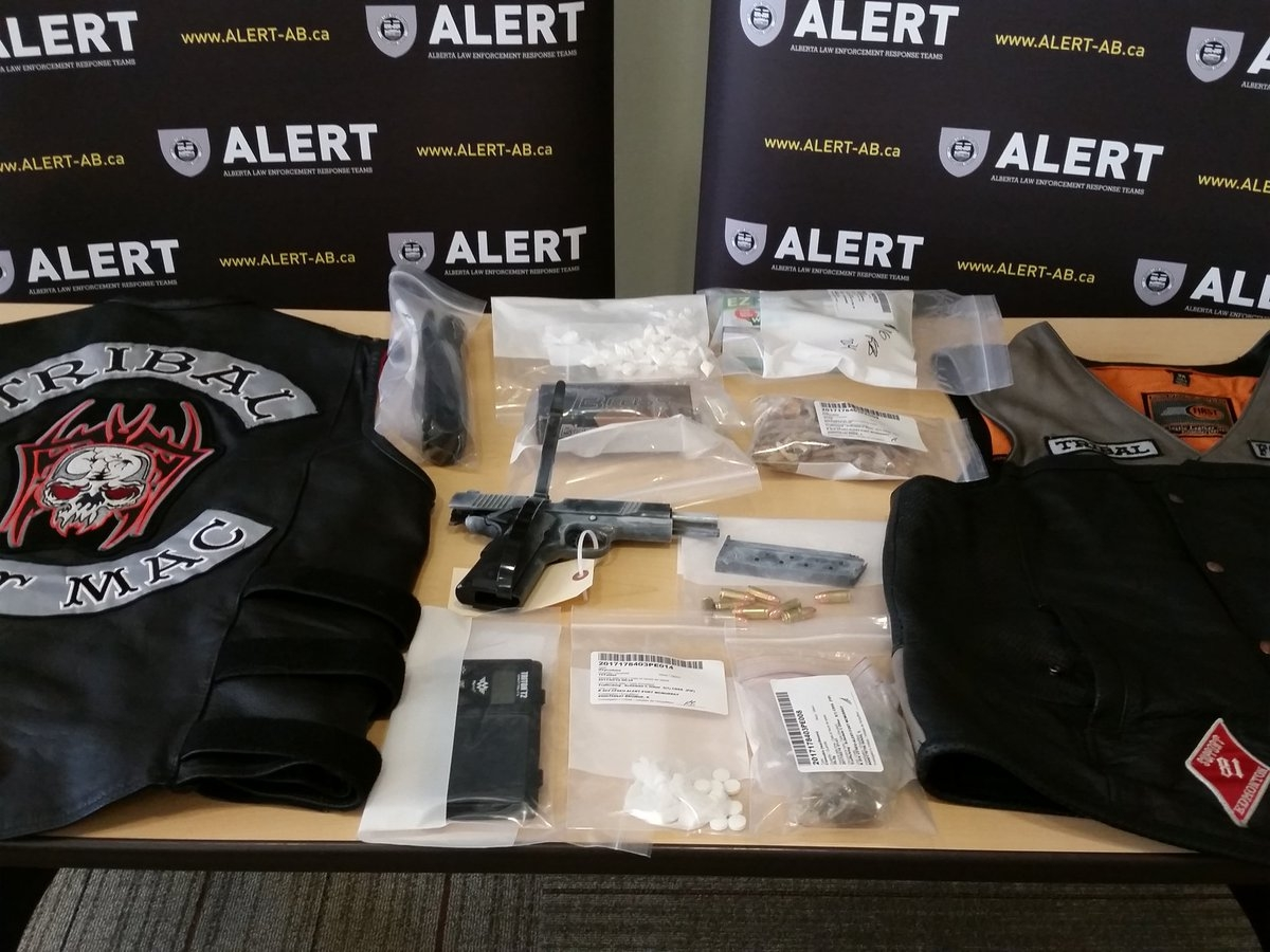 Two Bike Gang Members Arrested In Fort McMurray