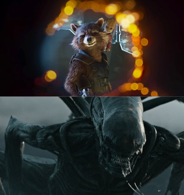 TRAILERS: Guardians 2 and Alien: Covenant