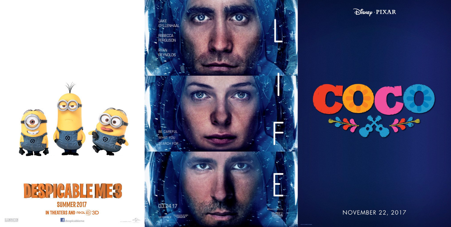 Trailer-Watchin Wednesday - Despicable Me 3, Coco, Life
