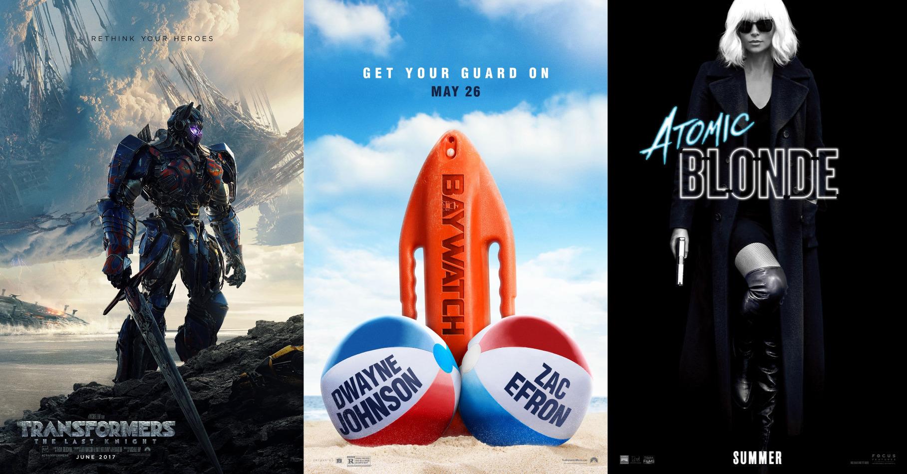Trailer-Watchin' Wednesday - Baywatch, Transformers: TLK, Atomic Blonde