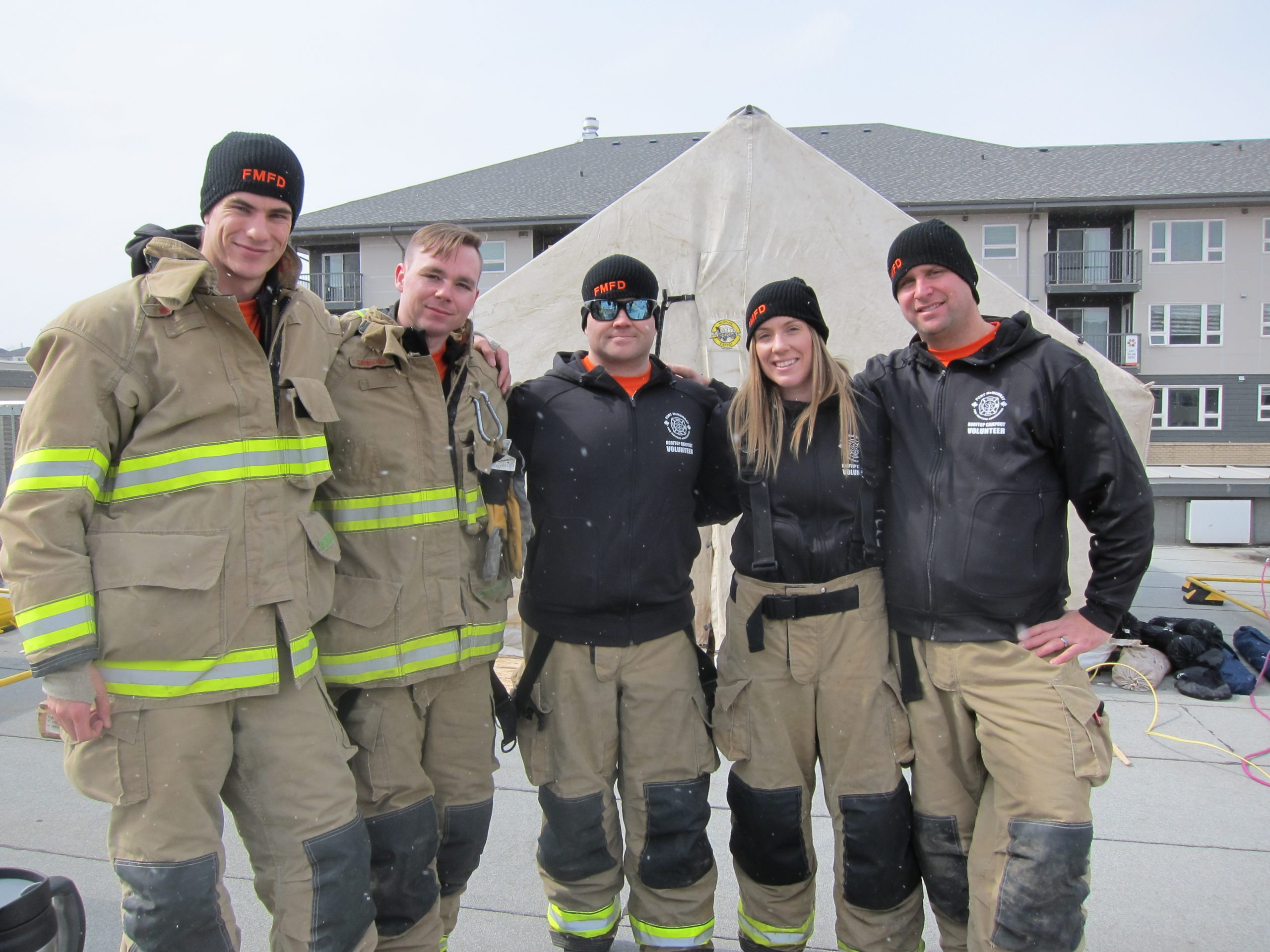 Rooftop Campout Raises Around $47,000 For Local Charities