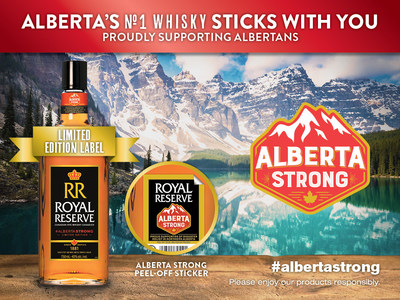 Royal Reserve Canadian Whiskey Supports Ongoing Rebuild Efforts