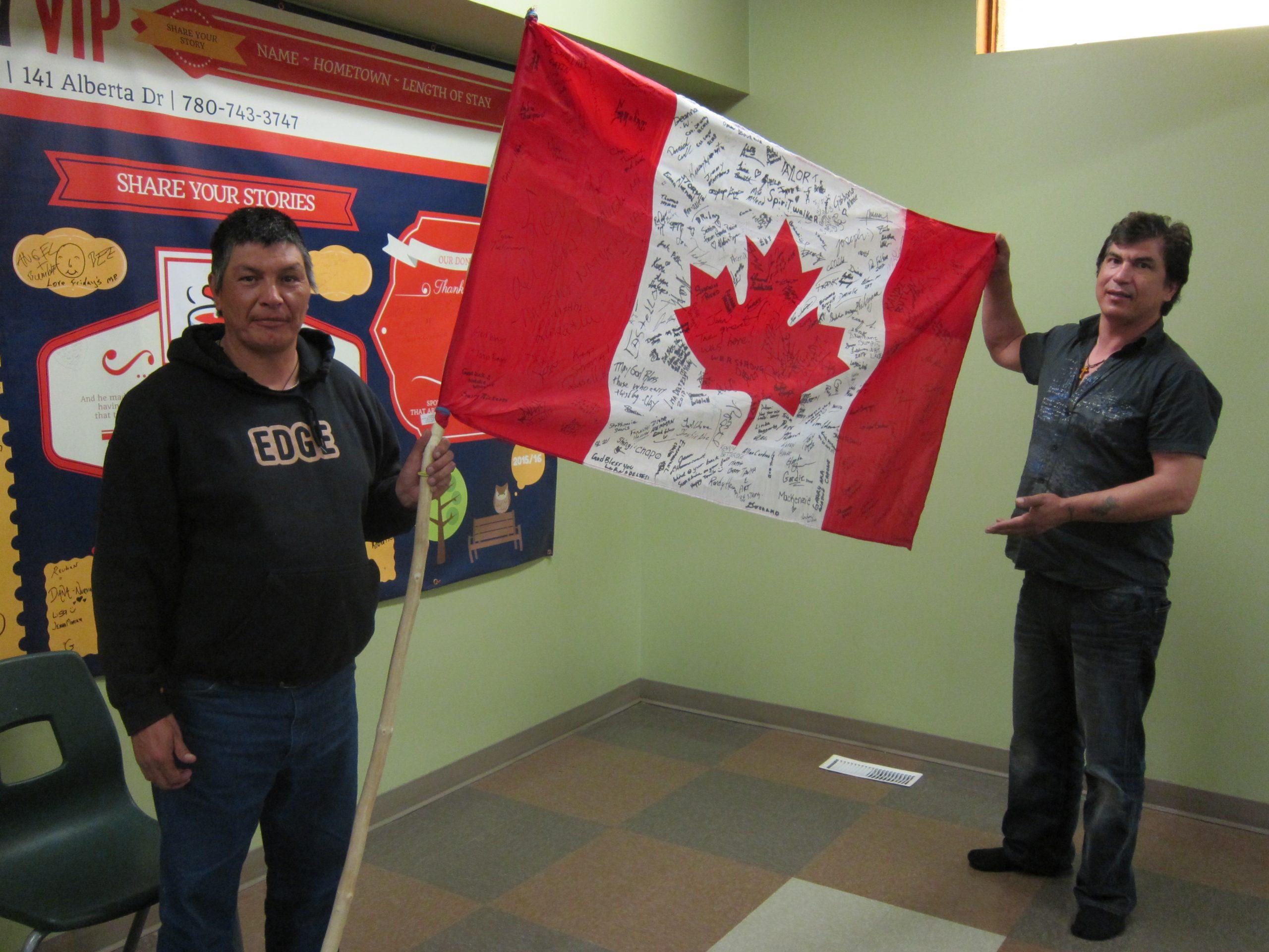 Local Man Walking Across Canada Raising Awareness for Homeless and Missing Aboriginal People