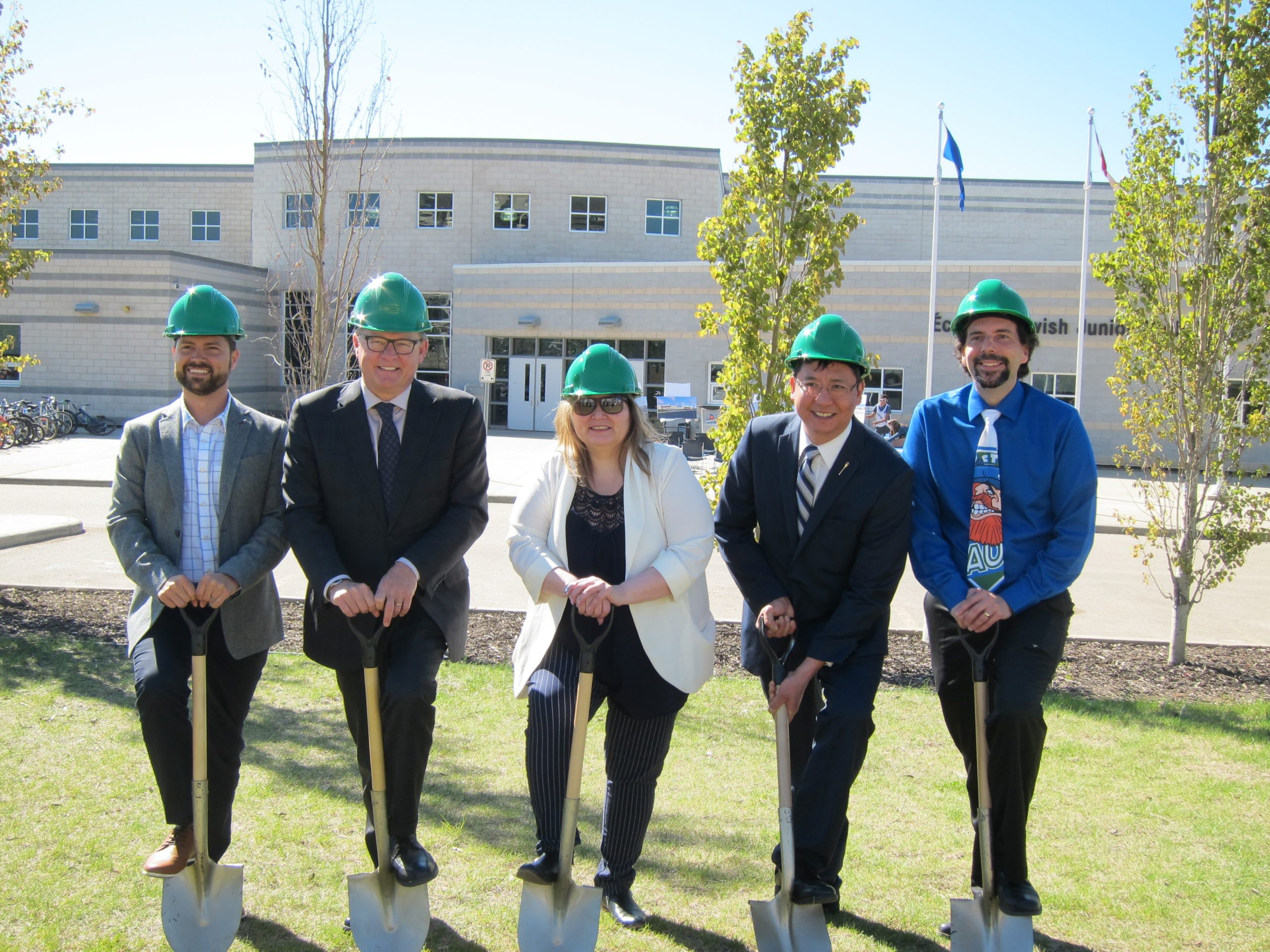 FMPSD Holds Sod Turning Ceremony To Mark École McTavish Expansion