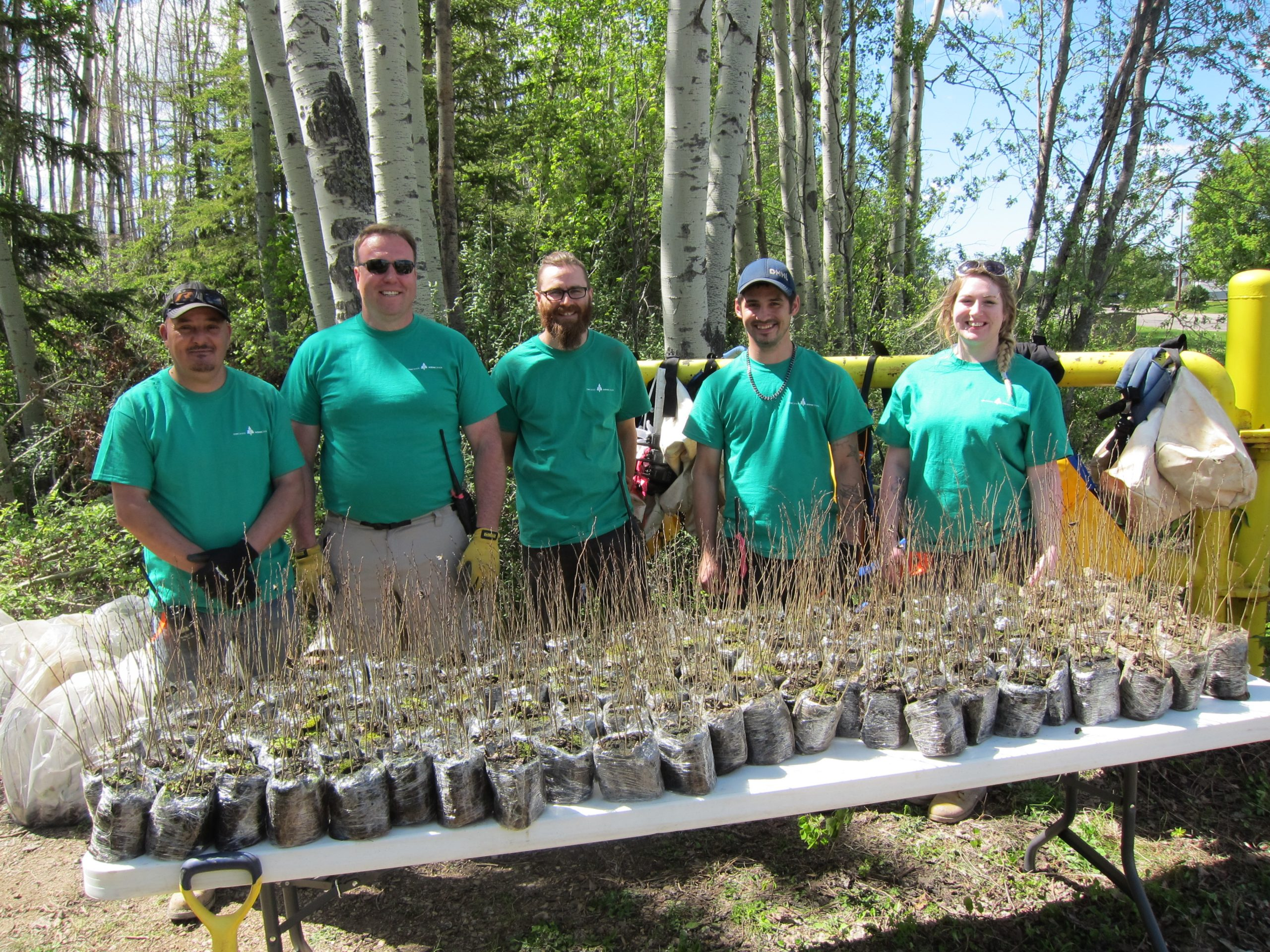 Operation ReLeaf Plants 86,000 Trees In Spring