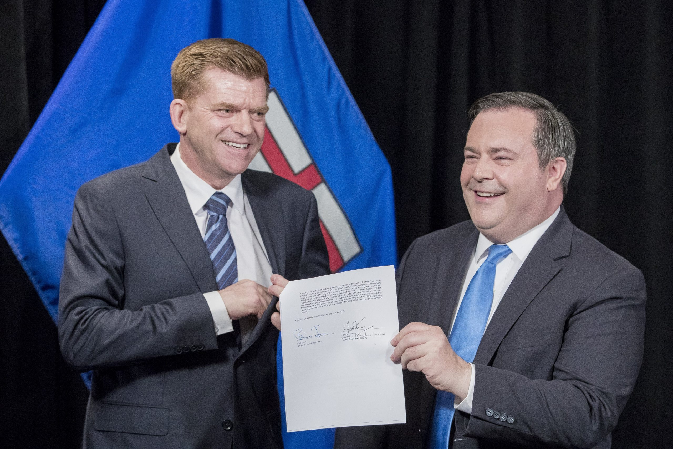 Wildrose and PC Parties Reveal Plans To Merge, Create United Conservative Party