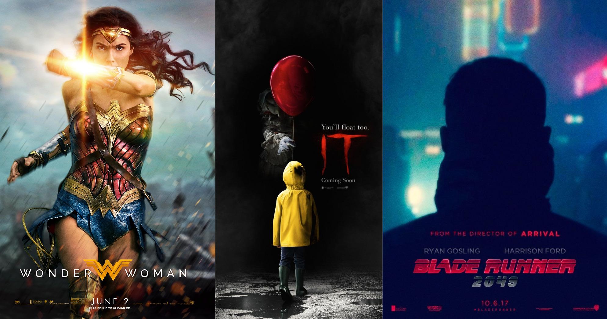 Trailer-Watchin' Wednesday - Blade Runner 2049, Wonder Woman, It